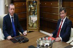 Cumhurbaşkanı Erdoğan ve Başbakan Davutoğlu Görüştü