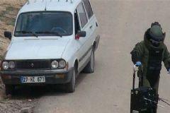 Kilis'te Şüpheli Araç Alarmı