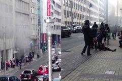 Brüksel'de Bir Patlama Da Metro Durağında Oldu