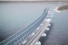Türk Yük Gemisi Kerç Boğazı'nda İnşa Edilen Köprüye Çarptı