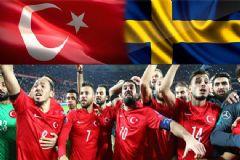 Türkiye-İsveç Maçı Hangi Kanalda, Saat Kaçta?