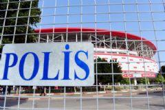Maç Öncesi Antalya'da Güvenlik En Üst Seviyeye Çıkarıldı