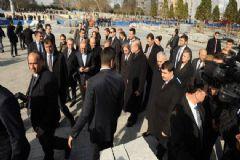 Erdoğan Taksim Meydanı'nda İncelemelerde Bulundu