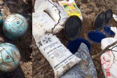 Bitlis'te PKK'lı Teröristlere Ait El Yapımı Patlatıcı Ele Geçirildi
