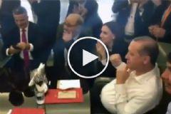 Erdoğan, Hakan Çalhanoğlu'nun Golüne Böyle Sevindi