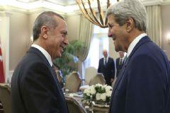 Cumhurbaşkanı Erdoğan, Kerry ile Görüşecek