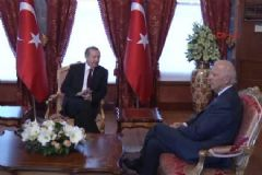 Erdoğan'ın Biden ile Görüşmesi Başladı