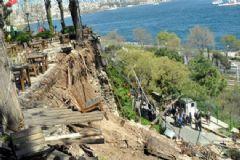 Gülhane Parkı'nda Duvar Çöktü: 5 Yaralı