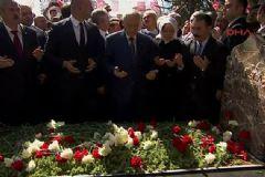 Türkeş Vefatının 19'uncu Yılında Mezarı Başında Anıldı