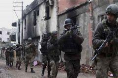 Yüksekova'da Toplar PKK Hedeflerini Vurdu