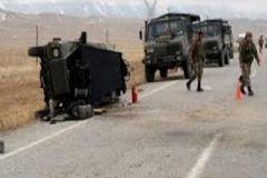 Van'da Askeri Araç Devrildi: 4 Asker Yaralı