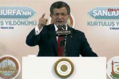 Davutoğlu: İstiklal Madalyası Şanlıurfa'nın Gecikmiş Bir Hakkı