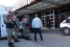 Kilis Sınırında Görevli Asker Göğüsünden Yaralandı