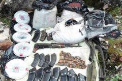 PKK'ya Ait Sığınak ve Çok Sayıda Patlayıcı Madde Ele Geçirildi