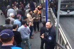Avcılar'da Metrobüs Durağına Ses Bombası Atan Şahıs Yakalandı