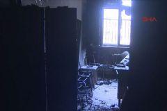 Nusaybin'de Teröristler Okul ve Diyaliz Merkezi Yaktı