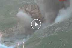 Mardin'de 3 Ton Patlayıcı Yüklü PKK Aracı İmha Edildi