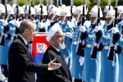 Cumhurbaşkanı Erdoğan,  Ruhani'yi Karşıladı