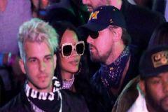 Rihanna ve Leonardo DiCaprio Coachella'da Yakalandı