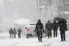 Meteoroloji 4 İli Kar Yağışı İçin Uyardı