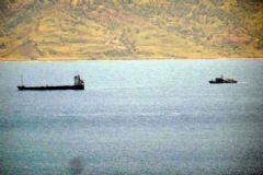 Hollanda Yük Gemisi Müsellim Boğazı'nda Karaya Oturdu