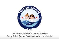 TSK 23 Nisan Denizde Bayram Klibi İle 23 Nisan'ı Kutluyor