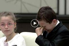 Erdoğan'a Soru Soran Şehit Çocuğu Gözyaşlarını Tutamadı