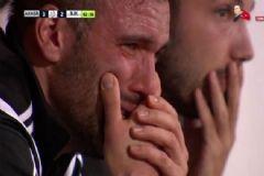 Akhisar - Beşiktaş Maçı Sonrası Serdar Kurtuluş Gözyaşlarını Tutamadı