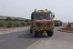 Kilis Sınırına Zırhlı Birlikler Sevkedildi