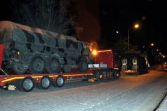 Kilis'e Zırhlı Araç Sevkiyatı Devam Ediyor