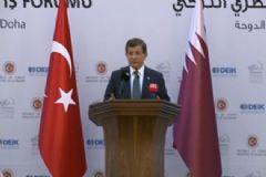 Davutoğlu: Türkiye Katar Ortak Üssümüz Devreye Girmiş Bulunuyor