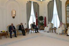 Davutoğlu, Katar Emiri Şeyhi ile Görüştü