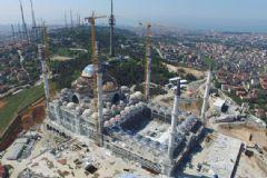 Çamlıca Camii Afet Anında 100 Bin Kişiye Ev Sahipliği Yapacak