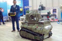 Konya'da Tank Görünümlü Mini İnsansız Araç Üretildi