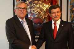 Başbakan Davutoğlu'ndan AB ile Vize Görüşmesi