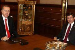 Erdoğan ve Davutoğlu'nun Görüşmesi Başladı