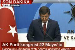 Davutoğlu: Bugün Ak Parti'nin Yeniden Bismillah Diyeceği Gündür