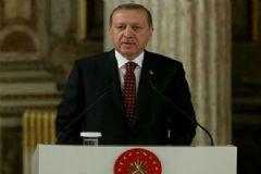 Yüksek İdari Yargı Kongresi Yemeğinde Konuşan Erdoğan Davutoğlu İçin Tek Söz Etmedi