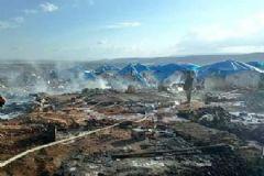 Esad Güçleri Sivillerin Bulunduğu Çadırkenti Bombaladı