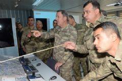 Orgeneral Akar Şırnak'taki Birlikleri Ziyaret Etti