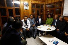 Başbakan Davutoğlu Taksi Duraklarını Ziyaret Etti