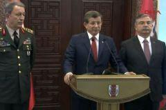 Davutoğlu: Kritik İlçelerdeki Operasyon Kararlarında Omuz Omuza Çalıştık