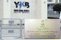 Halkalı'daki Gösteri Merkezi Yılın Nikahına Hazırlanıyor