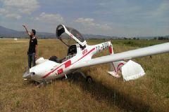 Eğitim Uçağı Düştü!
