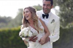 Sinem Kobal ve Kenan İmirzalıoğlu'nun Düğününden ilk Kareler