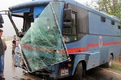 Samsun'da Cezaevi Aracı Yaptı: 5'i Asker 11 Yaralı