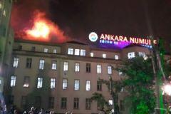 Ankara Numune Eğitim ve Araştırma Hastanesi'nde Yangın!