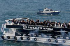 Boğaz'da Beşiktaş Şampiyonluk Turu