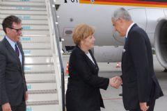 Merkel Dünya İnsani Zirvesi İçin İstanbul'a Geldi