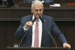 Yıldırım'ın Başbakan Olarak İlk Konuşması